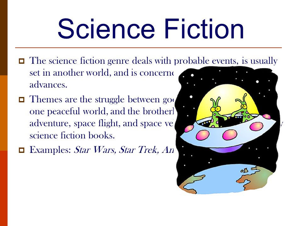 Science Fiction Genre Study
