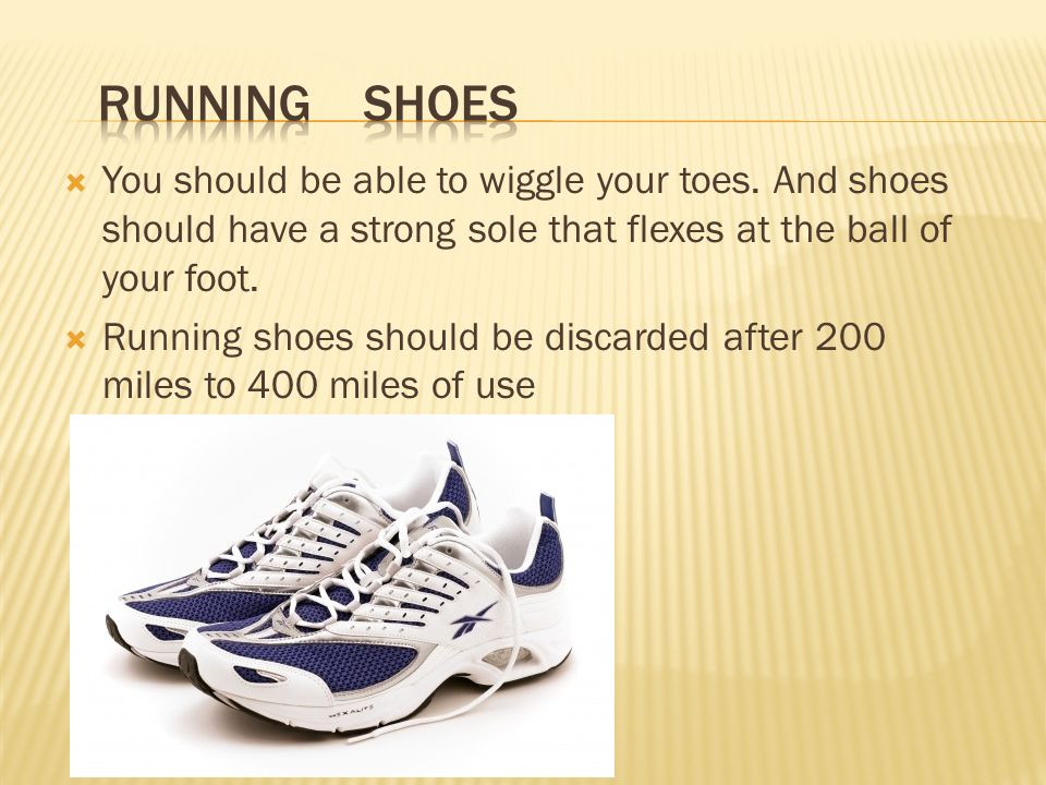 Running Shoes Should You Wiggle Toes
