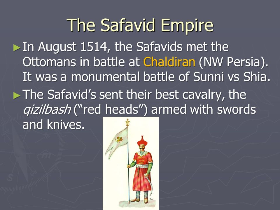 Ottomans Versus the Safavids