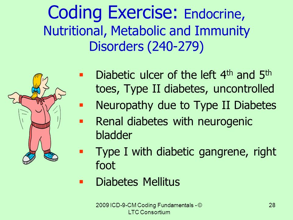 Image Result For Icd  Code For Diabetes Mellitus Type