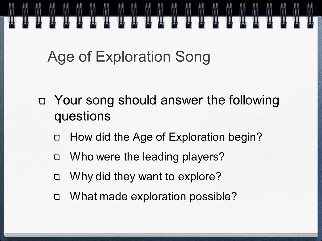Ch 19 Age Of Exploration Slides: Age Of Exploration Chapter Ppt Download
