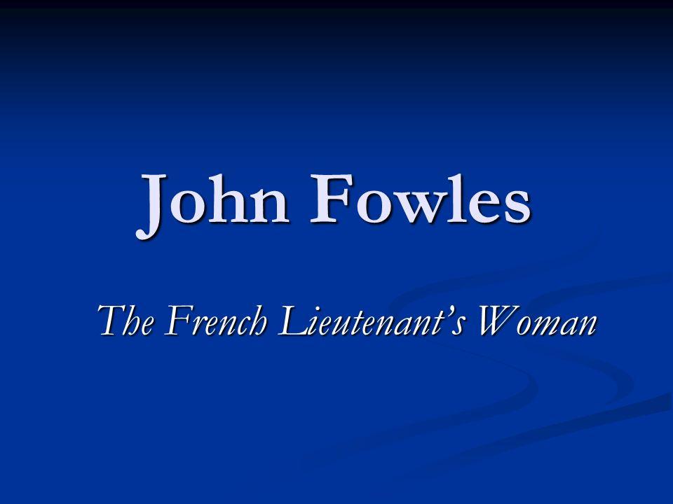 john fowles the enigma