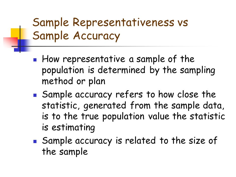 Determining Sample Size - ppt download
