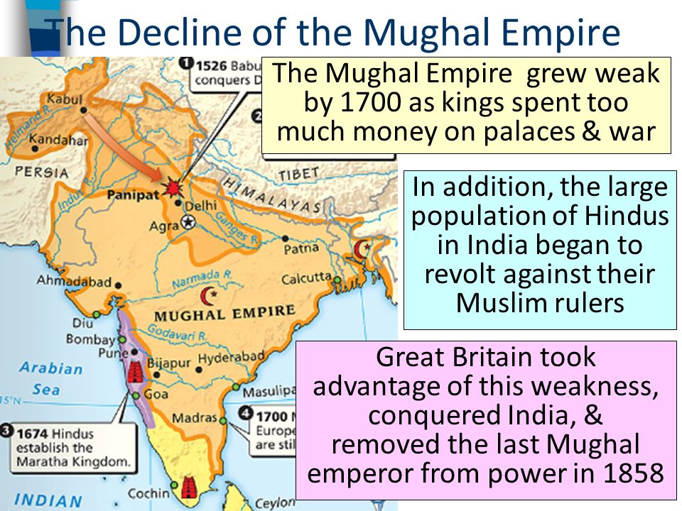 the establishment of the mughal empire From the hopes of babur and akbar to build an empire that all people could be proud of, to the obsession of shah jahan for his lost wife and the sheer cruelty of aurangzeb, the mughal empire's.