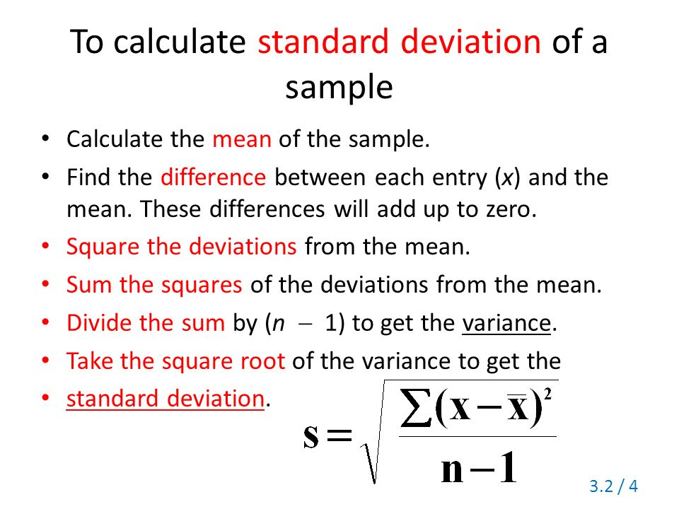 Section 32 Measures of Variation Range Standard Deviation – Standard Deviation Worksheet with Answers
