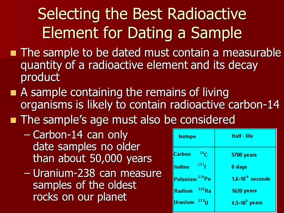 Uranium dating vs carbon 5