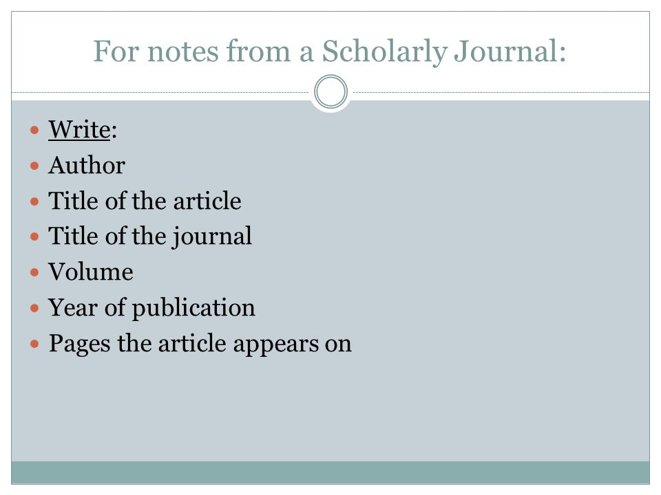 How to Write a Journal Critique Using APA Style