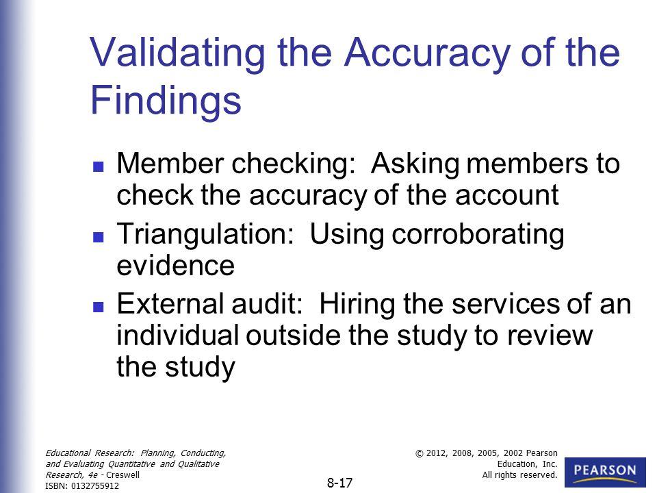 member checking in qualitative research pdf
