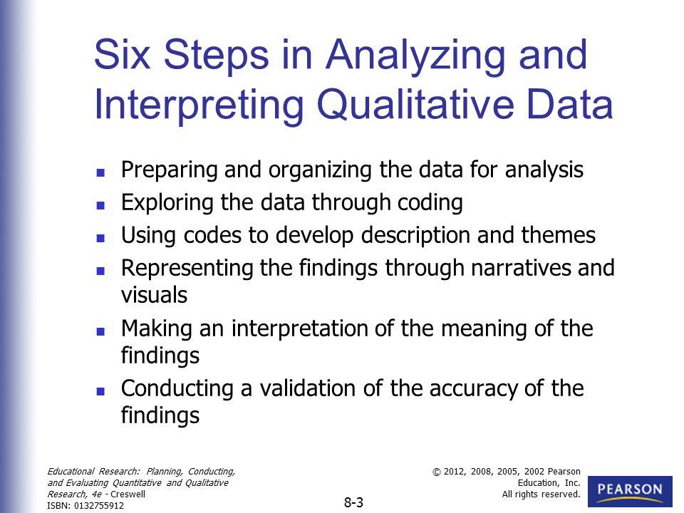 Analyzing and Interpreting Qualitative Data - ppt video ... Qualitative Data Analysis Process