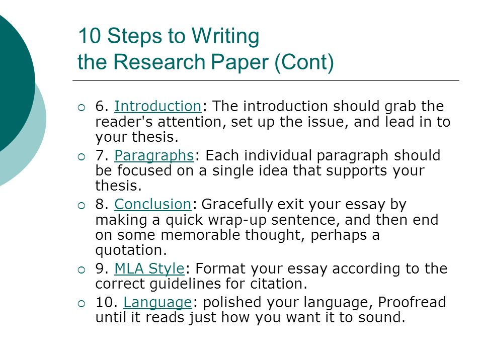 How to write a research paper introduction in four simple steps