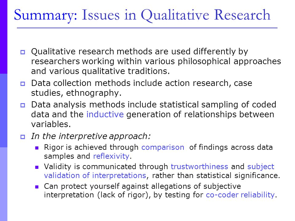 Reflexivity and the Researcher — NAIP European Master of