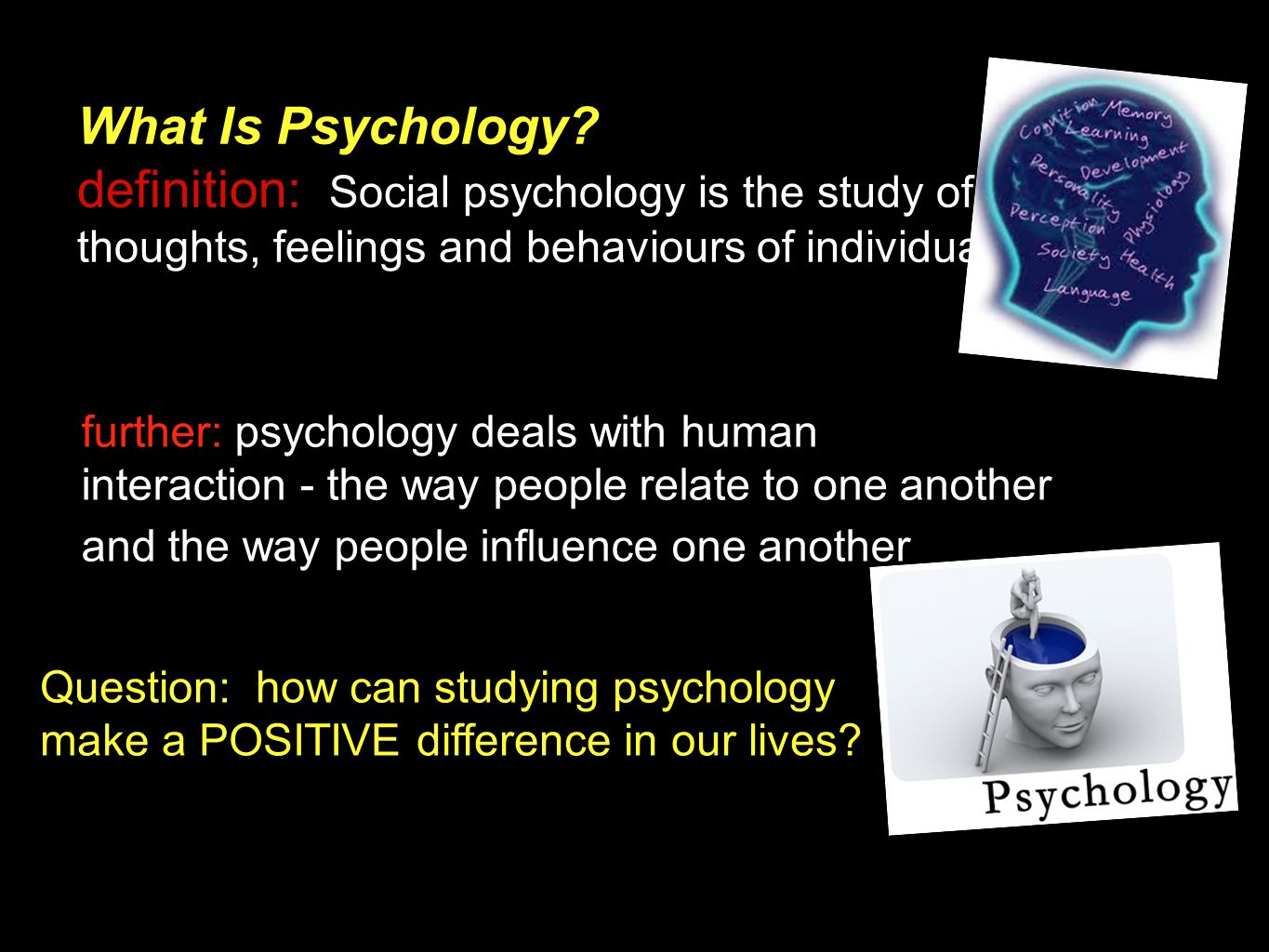 Evolutionary Psychology - Evolution Definition