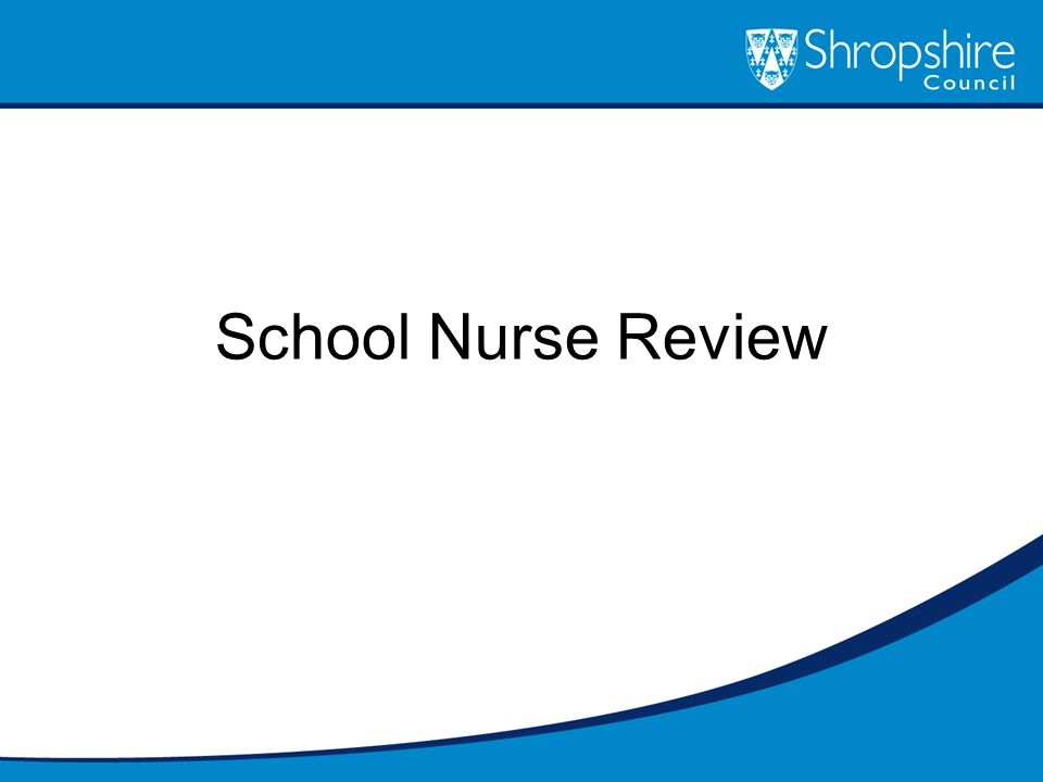 School Nurse Review