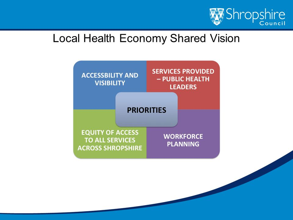 Local Health Economy Shared Vision