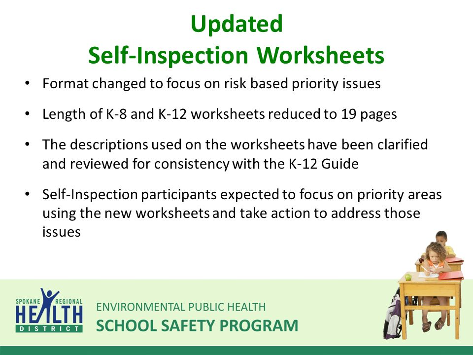 SelfInspection Program ppt download – K-12 Worksheets