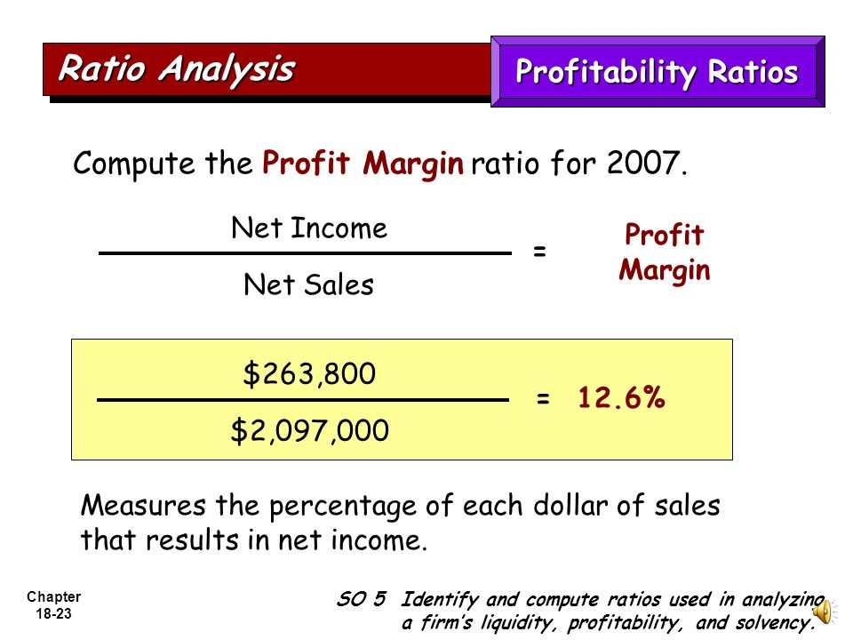 profitability ratios liquidity ratio and account Ratios - 1 ratio analysis-overview ratios: 1 provide a method of standardization  liquidity ratios  profitability ratios .