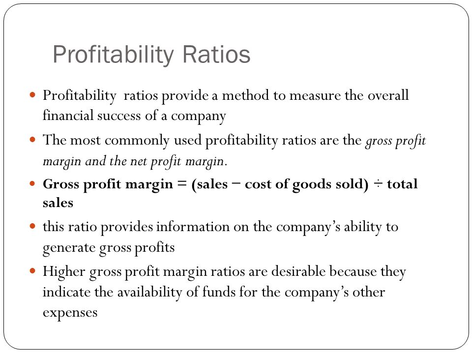 Profitability Indicator Ratios: Profit Margin Analysis