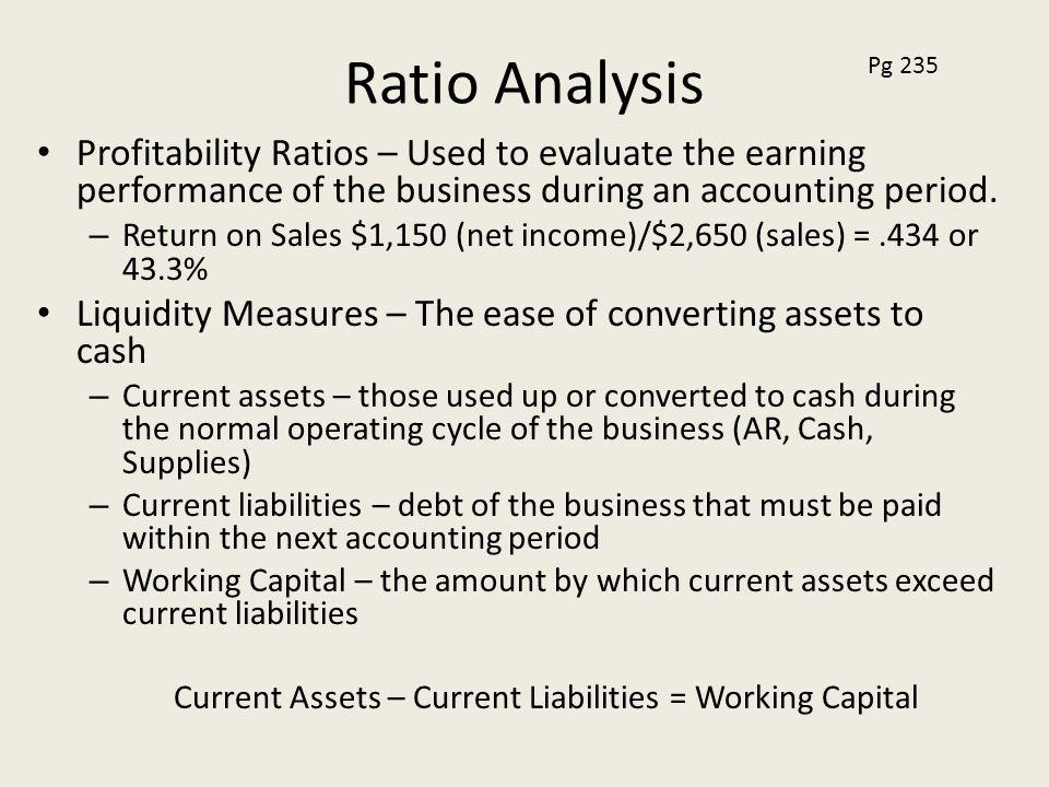 cash ratio norm