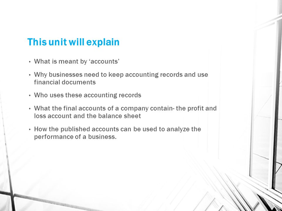 explain the need for keeping records Keeping good records does not mean throwing all of your receipts into a box for your accountant to decipher at the end of the year and speaking of accountants, if you're in business then you need to have an accountant who is not going to just prepare forms and returns for you, but also will help you with your tax planning to make sure you.