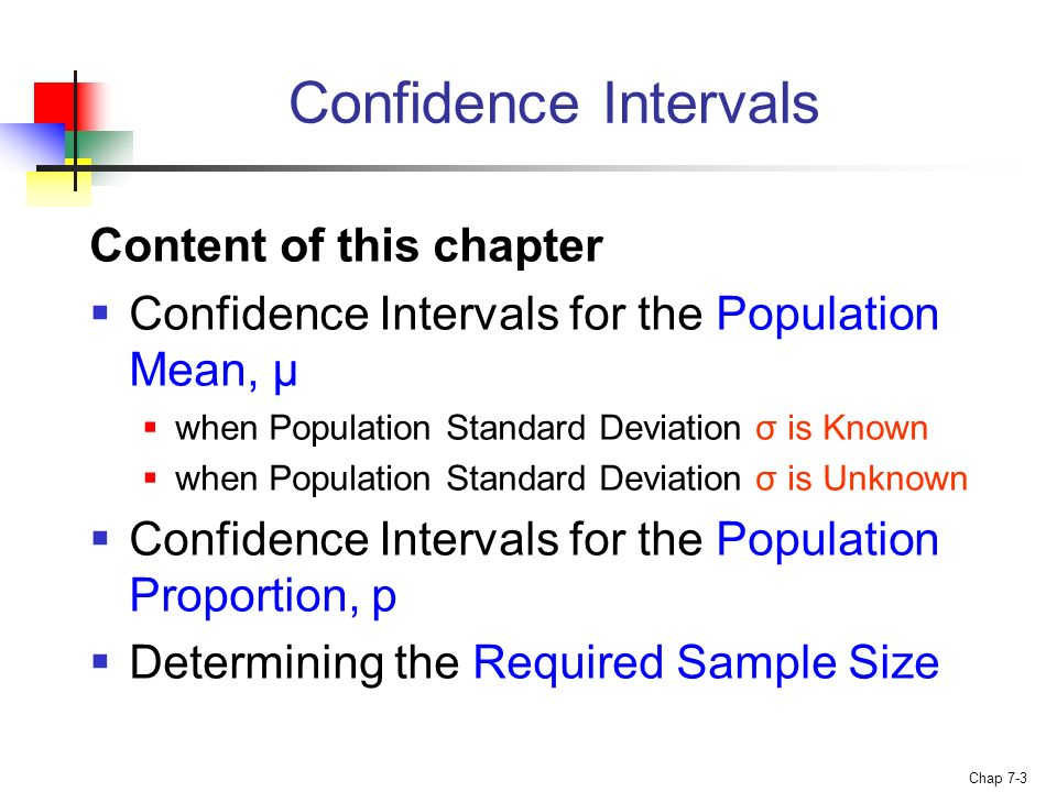 confidence intervals for one population proportion For a confidence interval for a population proportion, we need to make sure that the following hold: we have a simple random sample of size n from a large population our individuals have.