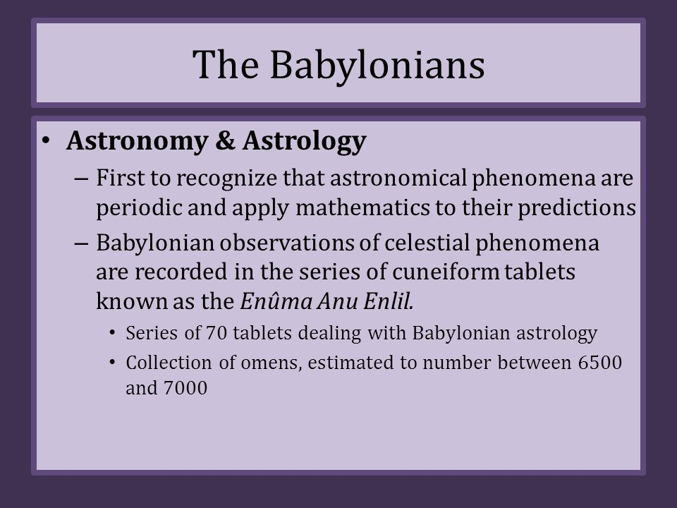babylonian astrology and astronomy - photo #10