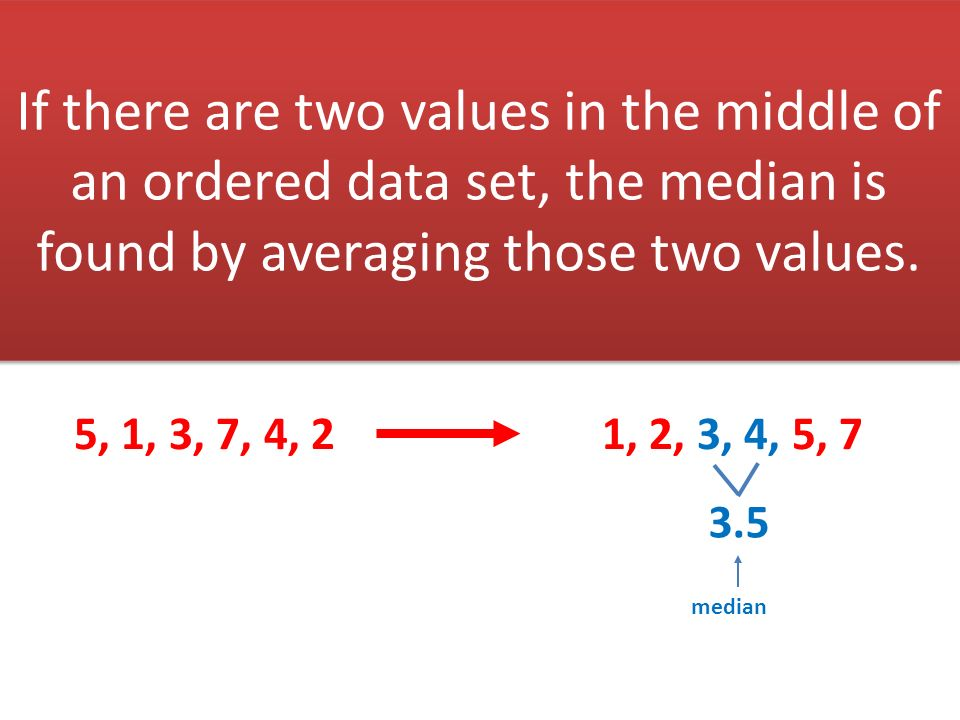 how to find the most values in a data set