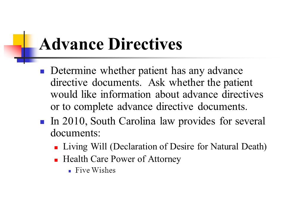 South Carolina Living Will Healthcare Power Of Attorney  Best