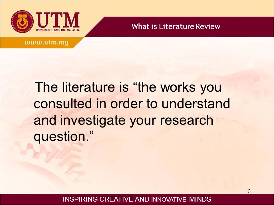 Pay for Your Literature Review