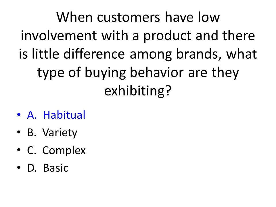 low and high involvement situations of Are all products that we buy either high involvement or low involement can they be classified into a third category how do we promote a product which may be high involvment to one market segment but low for another,eg shampoos are high involement for females but may be low for males.