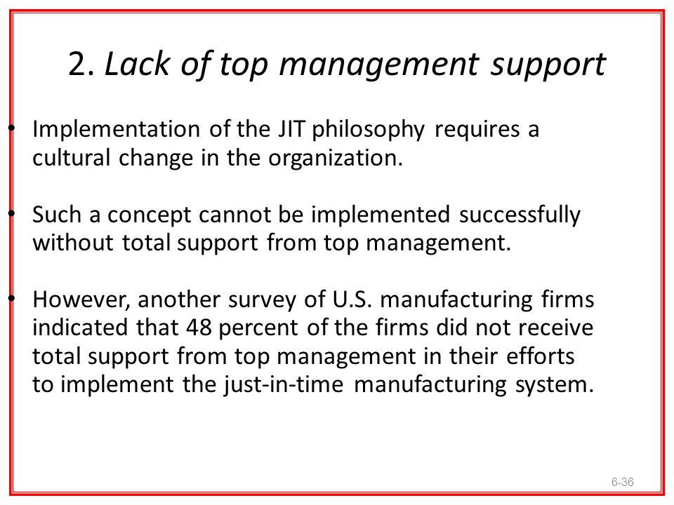 the concept of just in time manufacturing and how to implement it This article discusses in depth the implementation of jit manufacturing  jit in  time concept was initiated in japan making the toyota as its mater piece jit is.