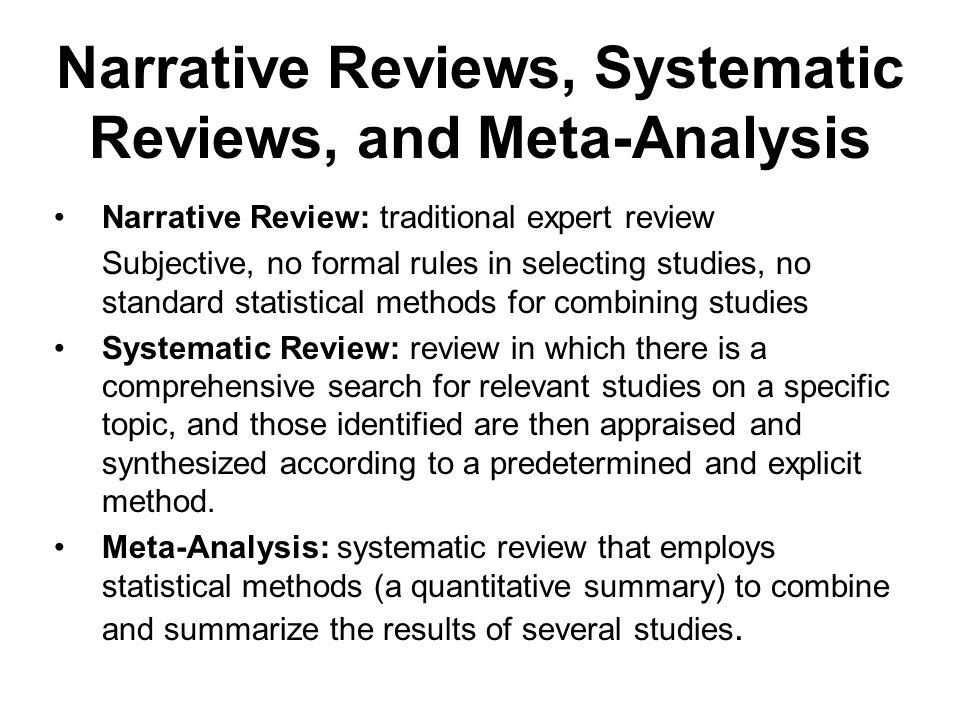 Meta-Analysis - Study Design 101 - himmelfarb.gwu.edu