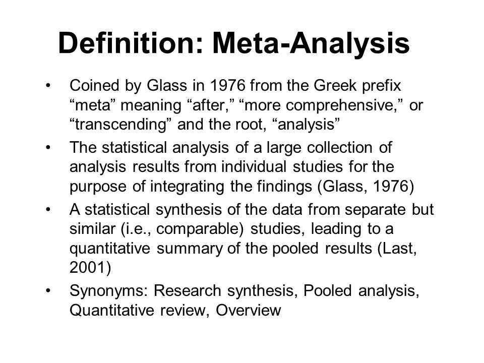 How To Write A Meta Analysis Research Paper 28 Images How To Write A Meta Analysis Research