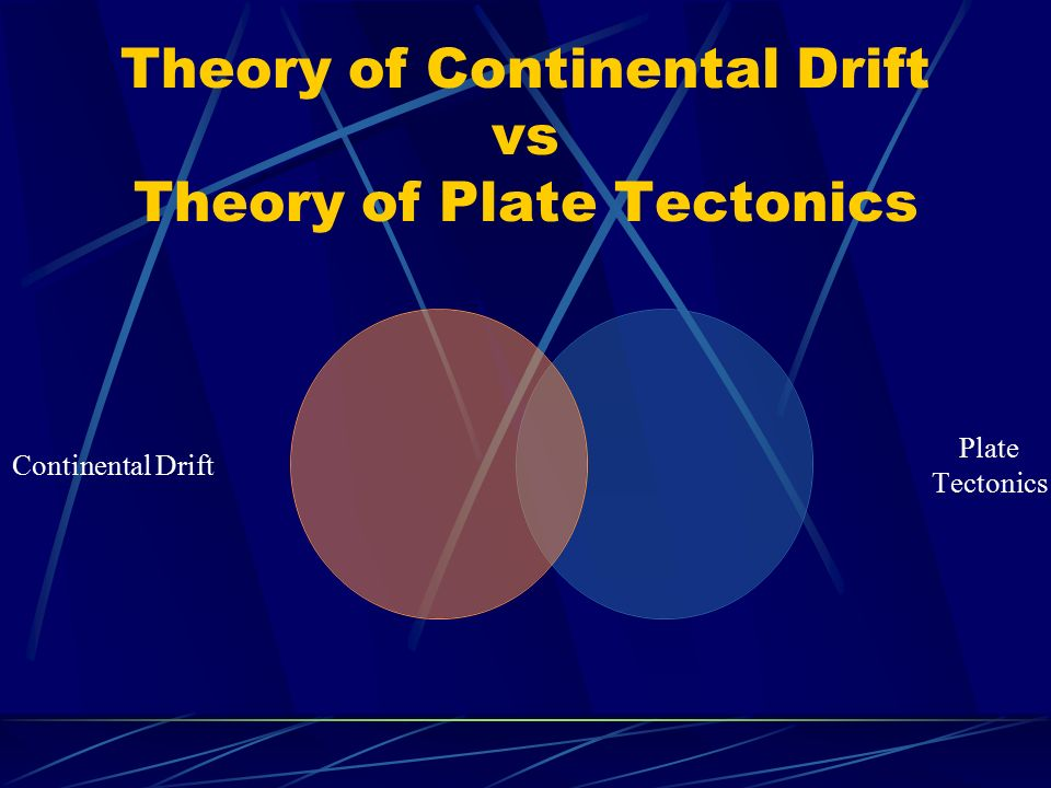 continental drift theory and plate tectonic Plan your lesson in earth and space science and earth with helpful tips from teachers like you ywbat state the theory of plate tectonics compare and contrast the theory of continental drift with the theory of plate tectonics.
