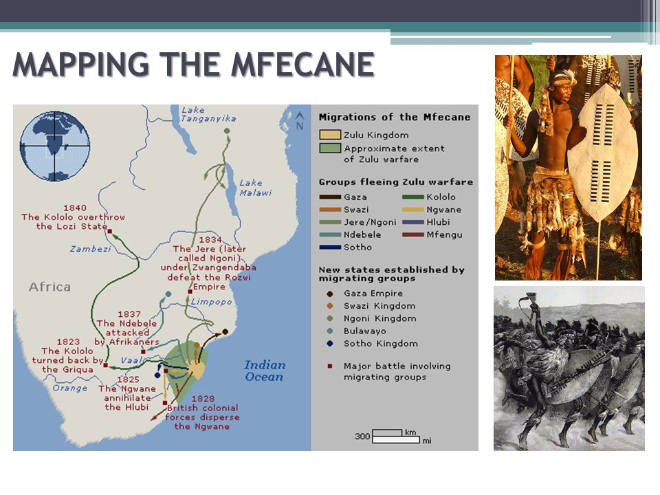 the mfecane To the victoria falls - enter the ndebele - the mfecane.
