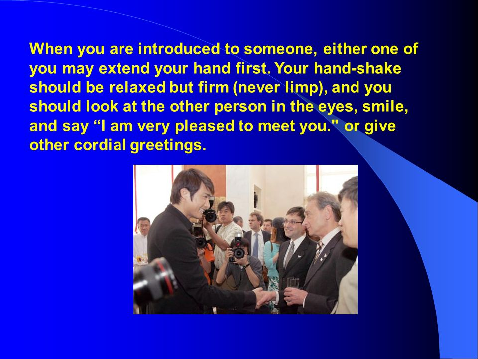 chapter 6 business etiquette and social customs ppt