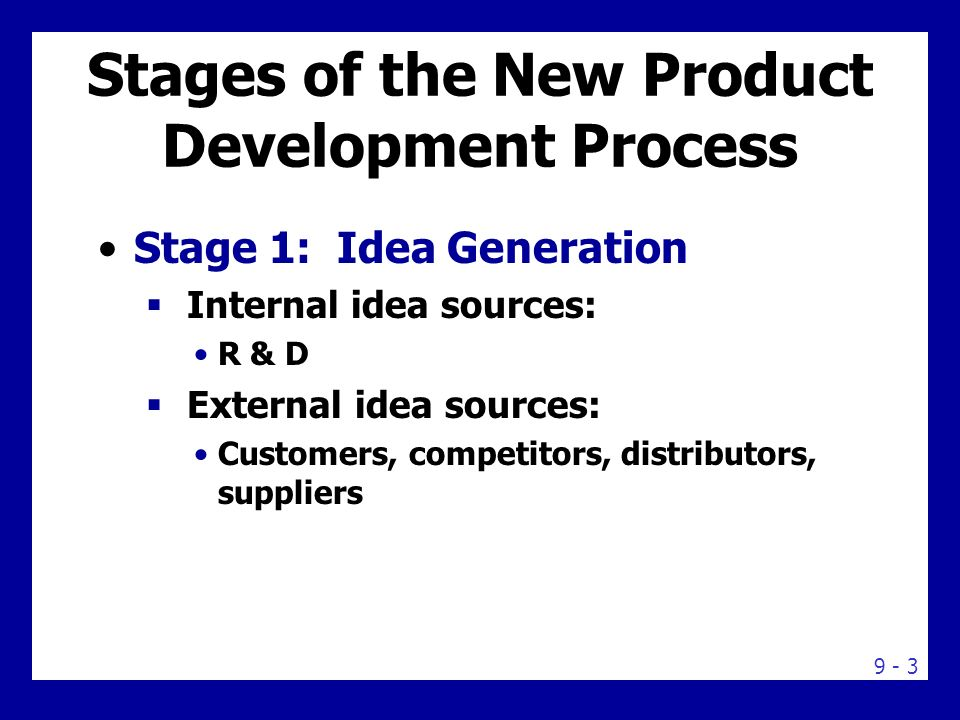 8 Step Process Perfects New Product Development