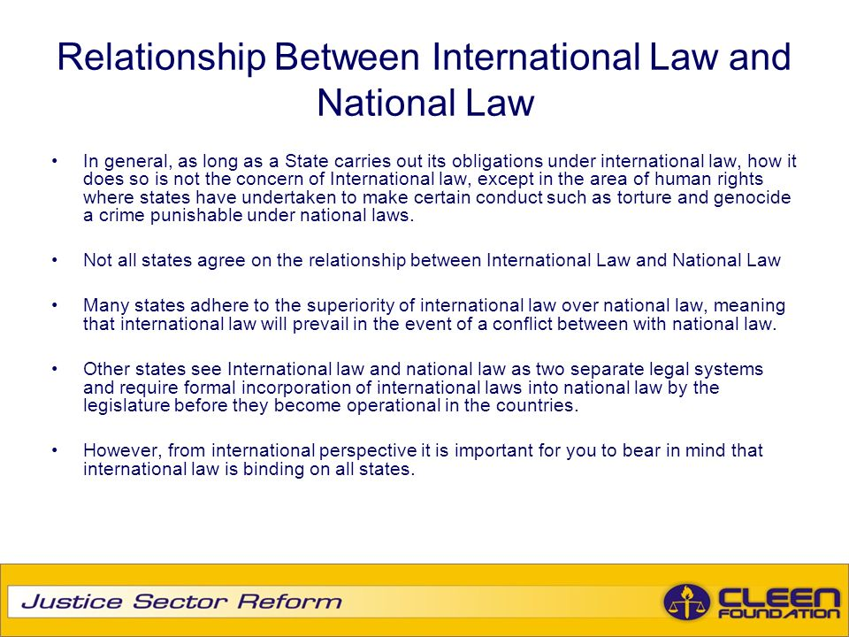 relationship between ihl and international criminal law