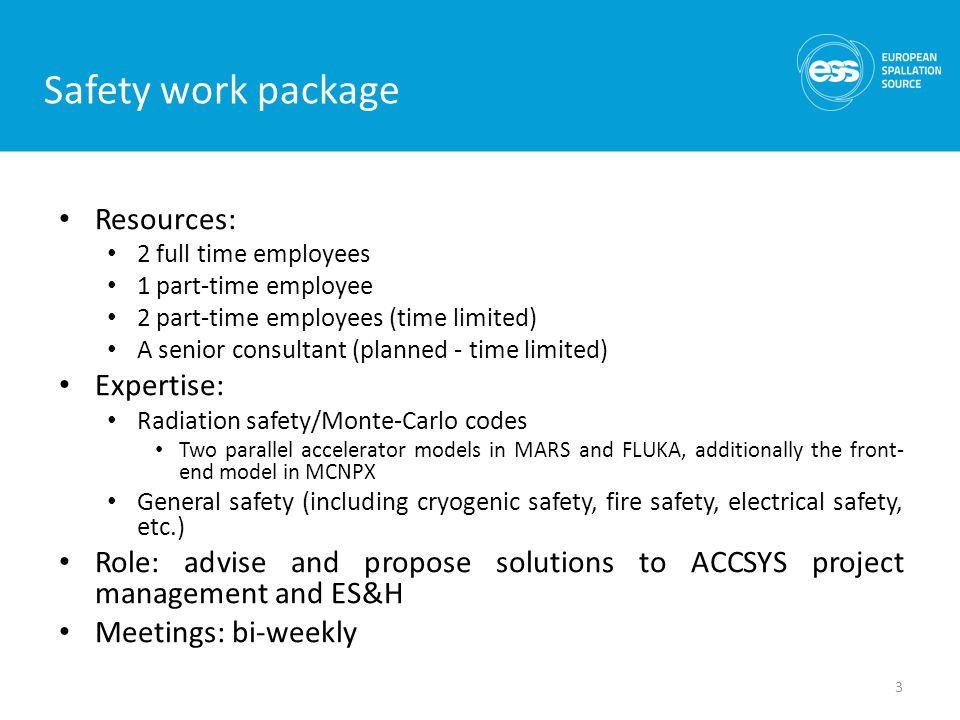 Lali Tchelidze Safety work package leader - ppt download