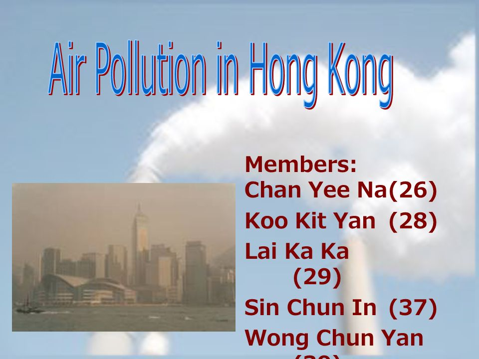 air pollution in hk