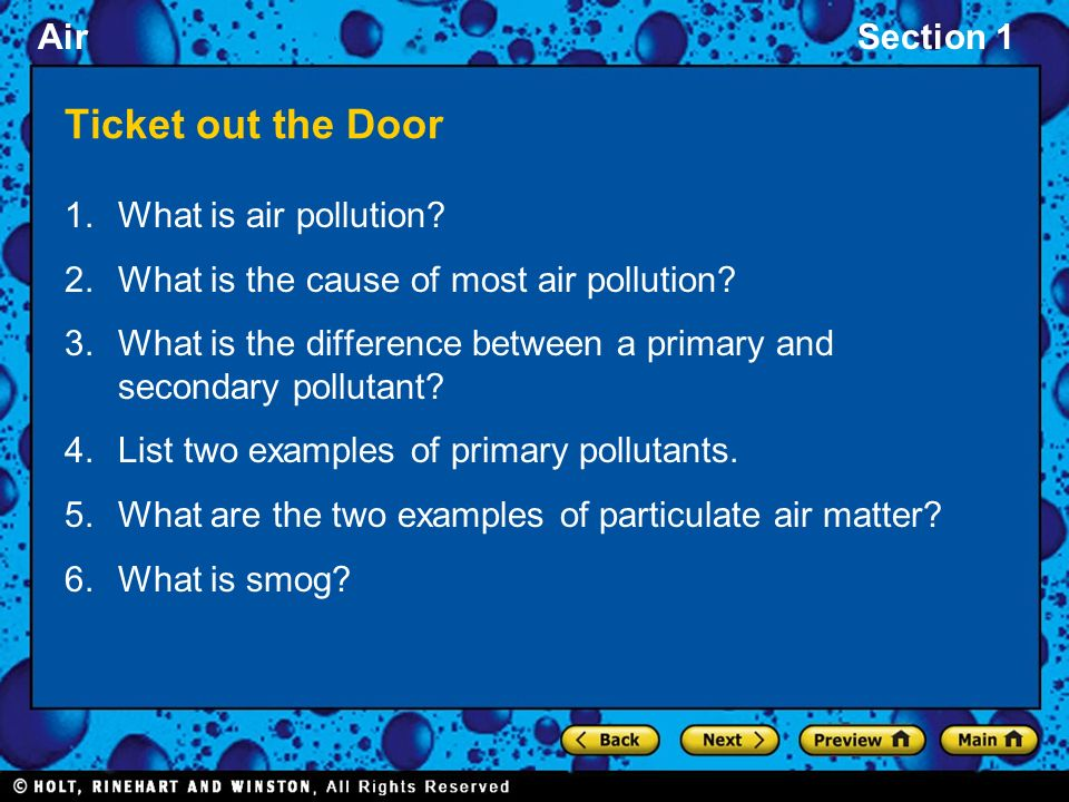 difference between primary and secondary air pollutants pdf