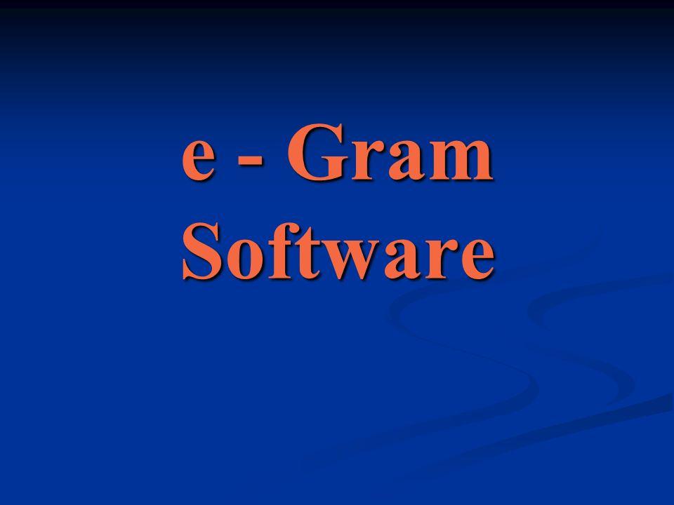 e - Gram Software