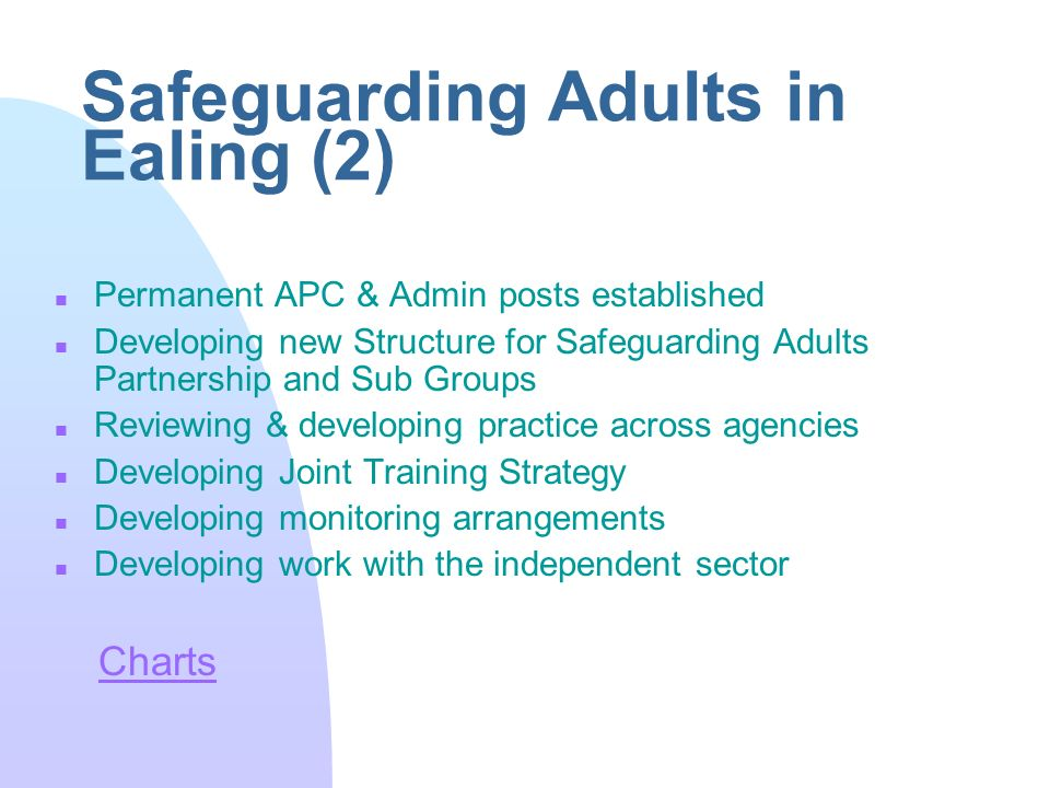 safeguarding adults and promoting independence essay The main aim of this essay is to discuss safeguarding patients suffering from  mental illness  care for those with mental health condition transition to  independent living  legislation, 2007) both promote the rights of mental health  patients  policies and procedures to protect vulnerable adults from abuse.