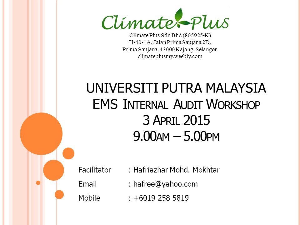 Climate Plus Sdn Bhd (805925-K)
