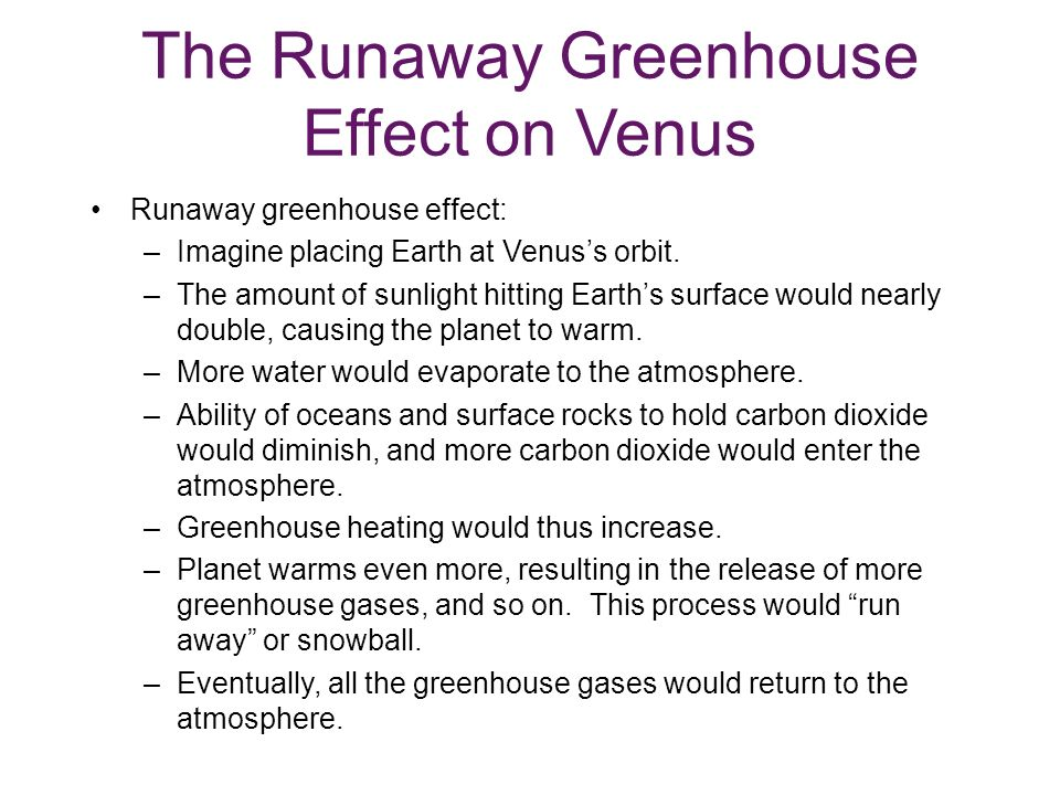 The Runaway Greenhouse Effect on Venus