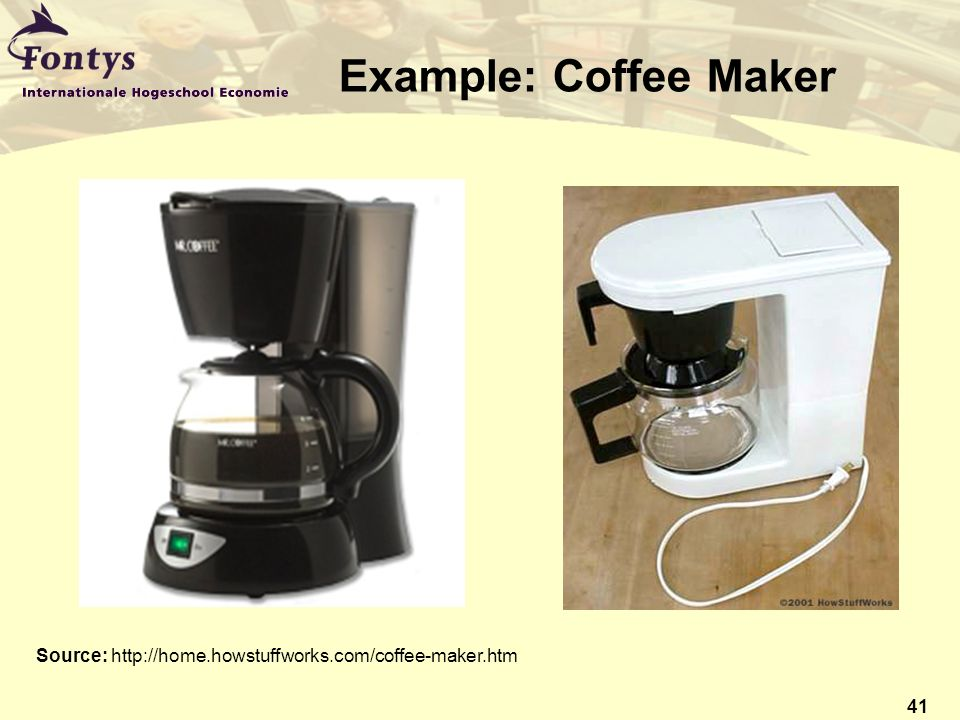 Coffee Maker How Stuff Works : (Corporate) Environmental Management Systems (EMS) - ppt download
