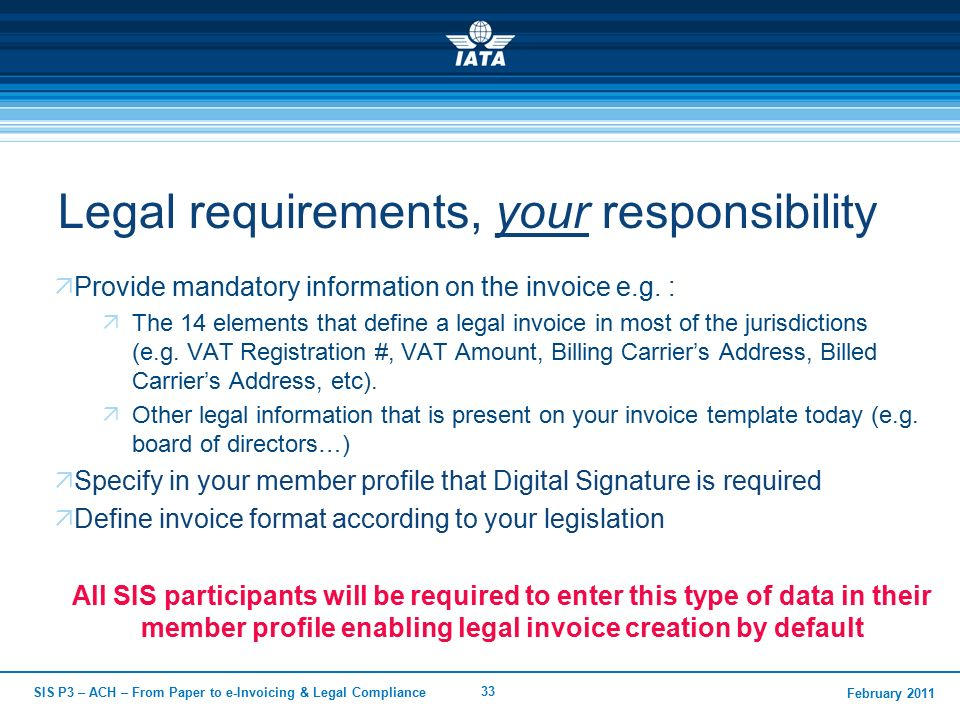 From Paper To EInvoicing And Legal Compliance  Ppt Video Online