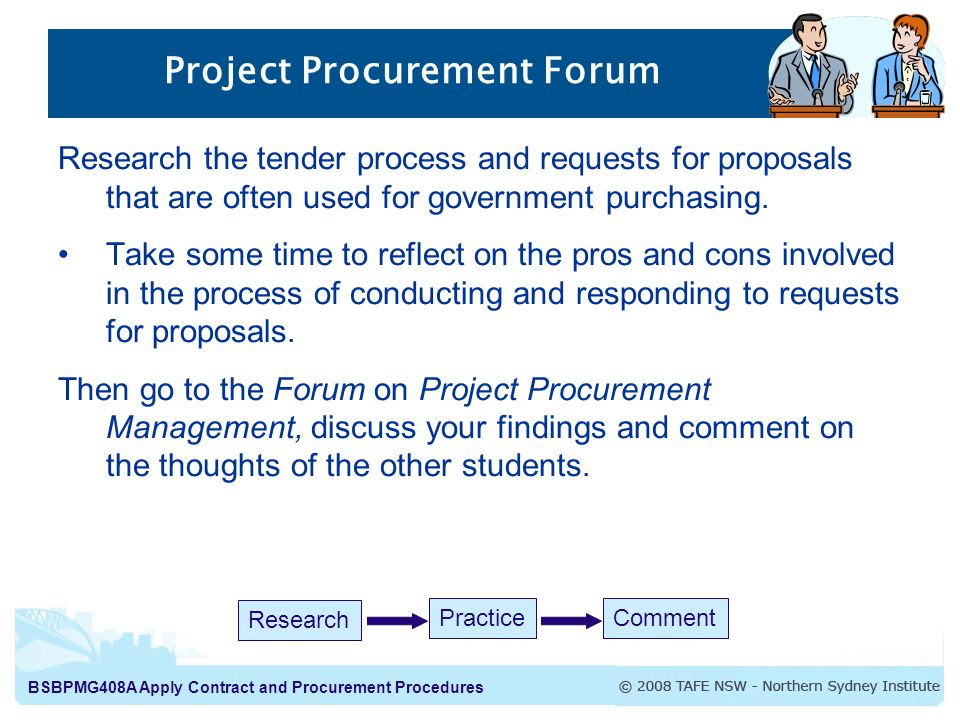 Project Procurement Forum