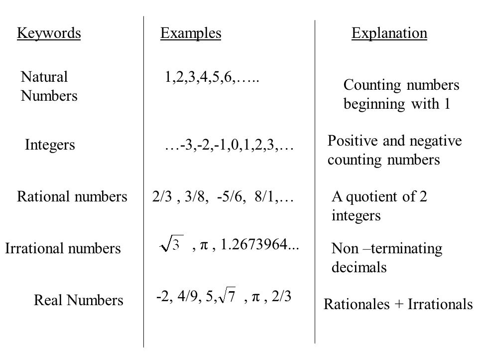 Natural Numbers Examples 31820 Movieweb