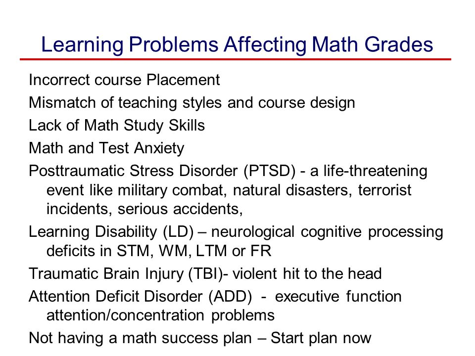 Math Anxiety : Personal , Educational , and Cognitive Consequences