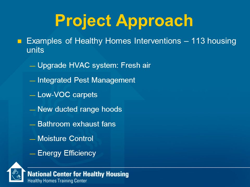 The Health Benefits Of Affordable Green Housing Ppt Download